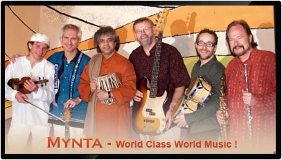 MYNTA - International World Fusion band
